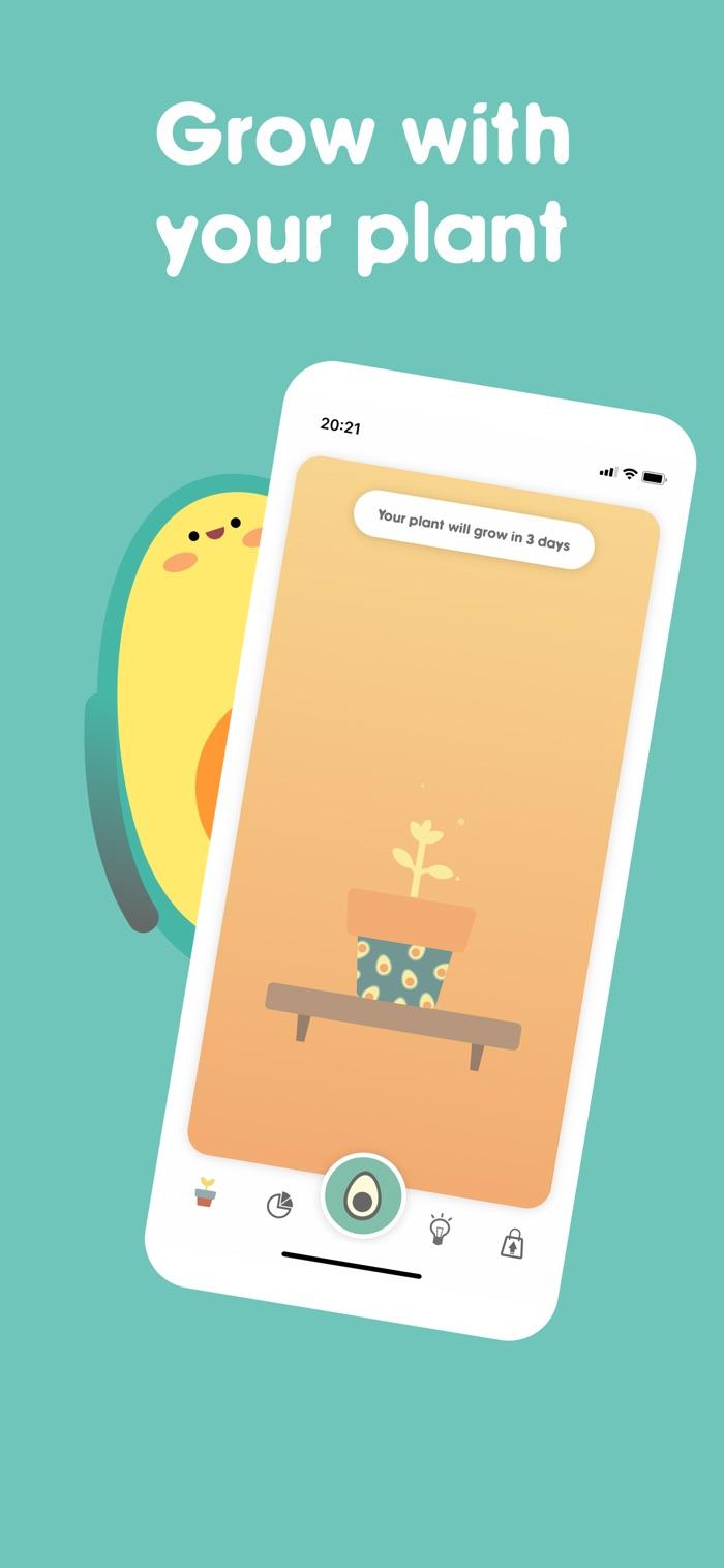 Avocation - app screenshot