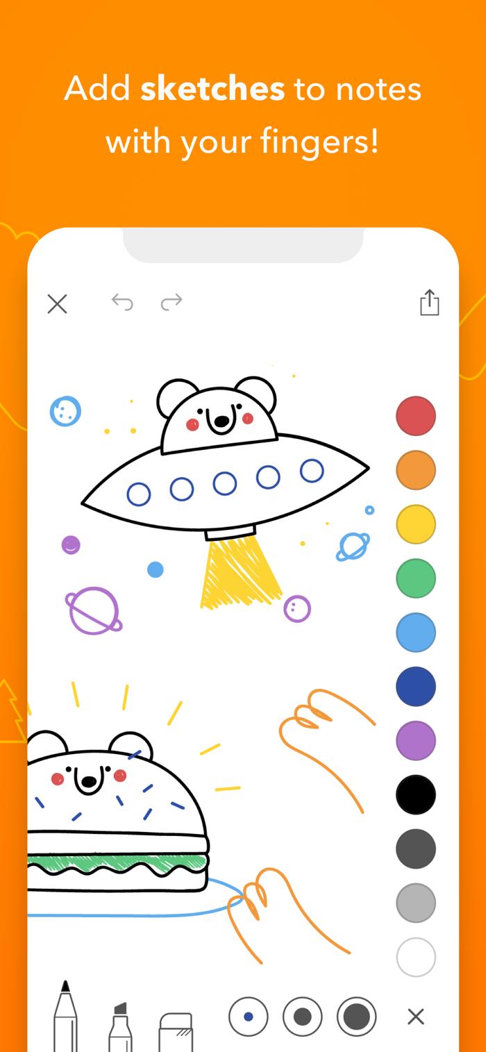 Bear - app screenshot