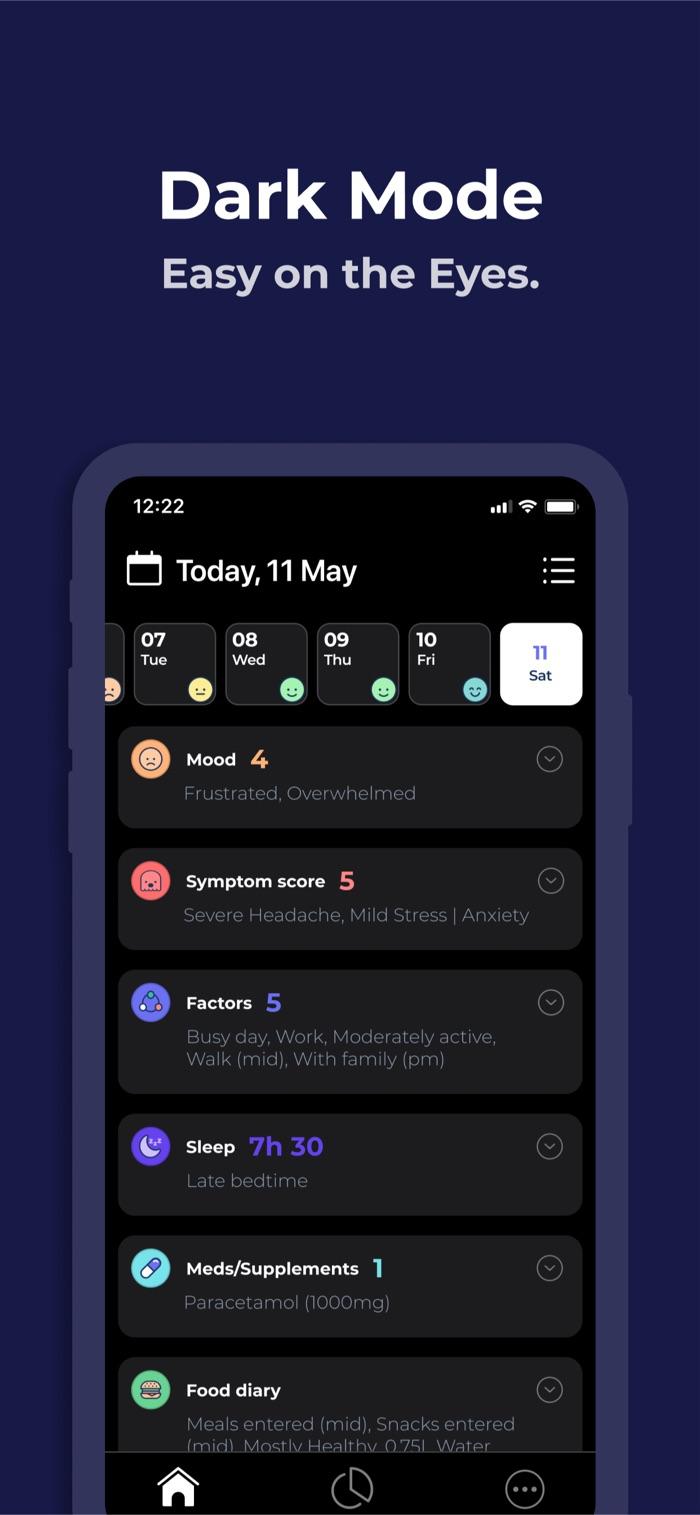 Bearable - app screenshot