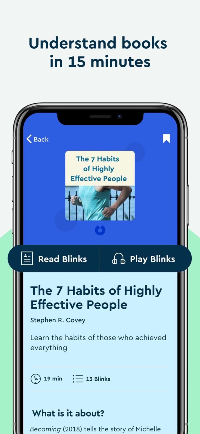 Blinkist - app screenshot