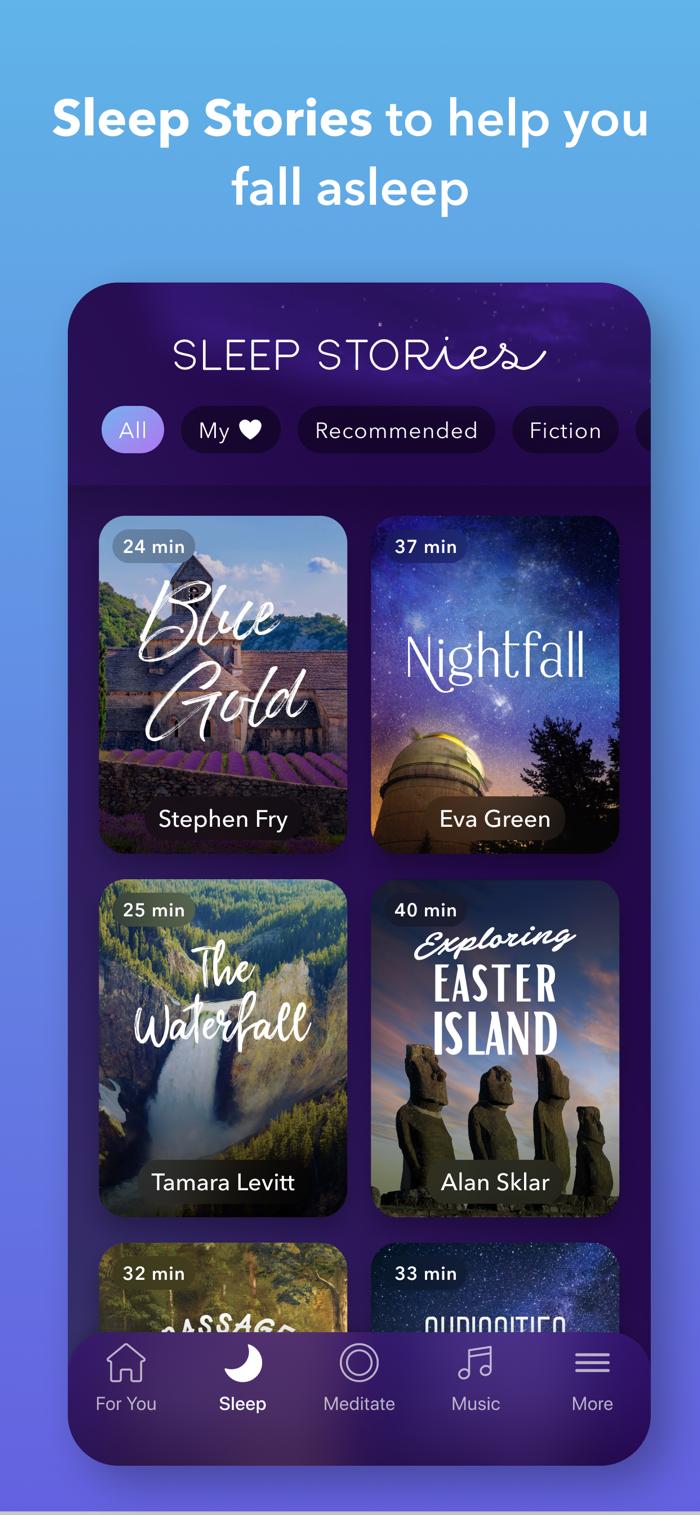 Calm - app screenshot