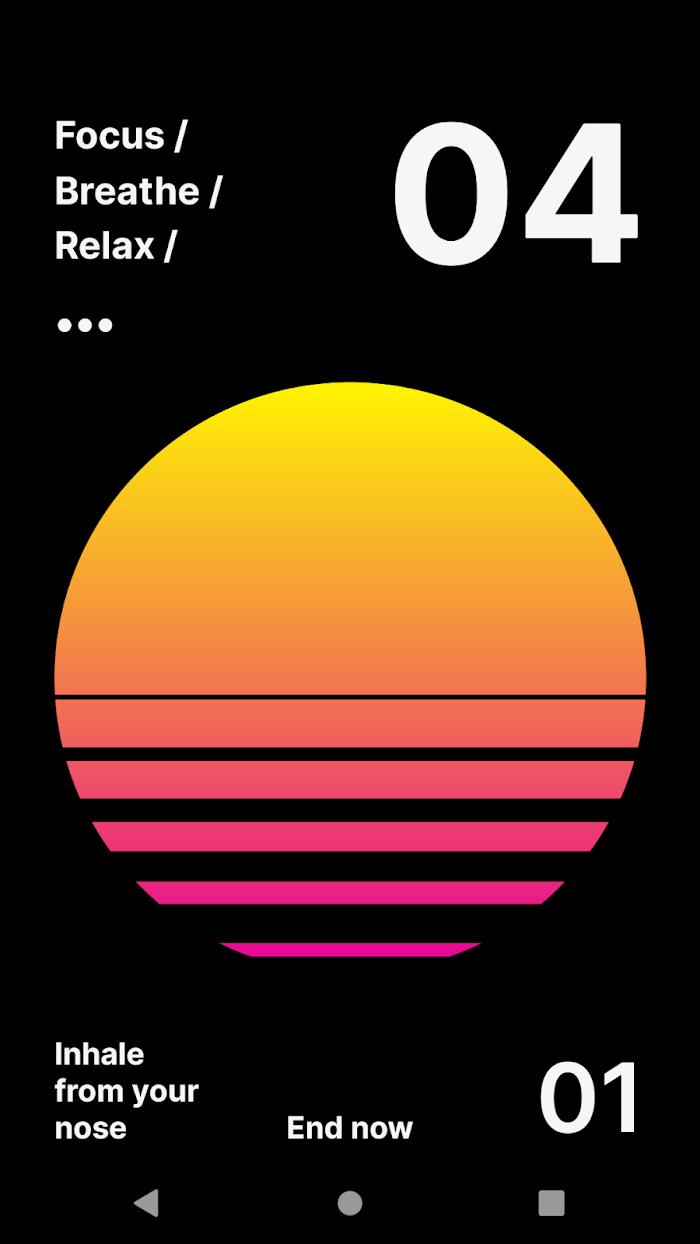 Calmaria - app screenshot