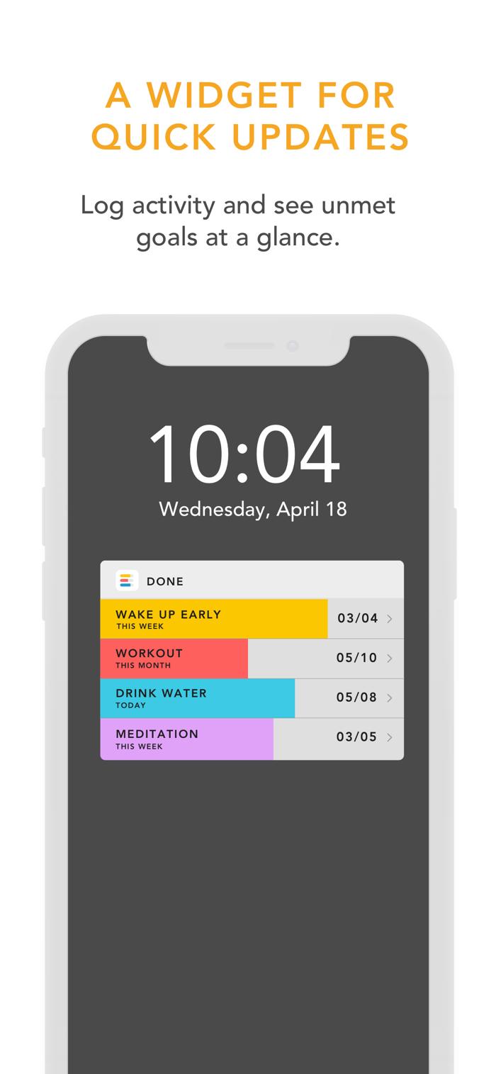 Done - app screenshot