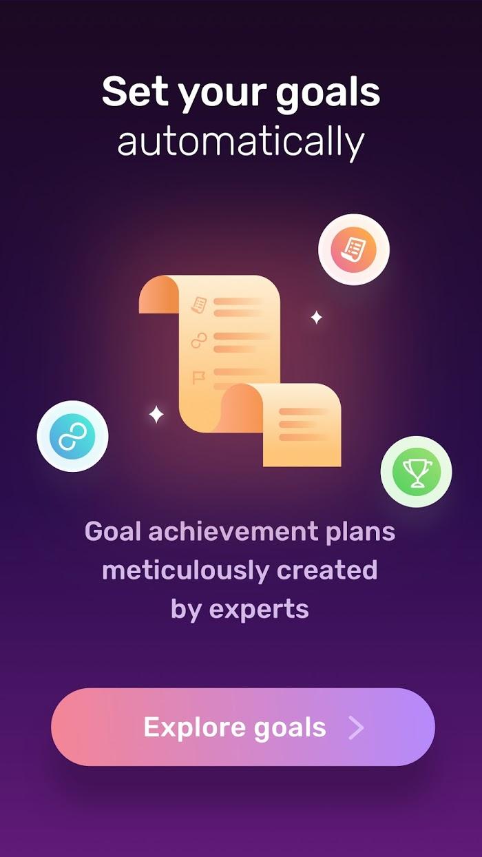 Dreamfora - app screenshot