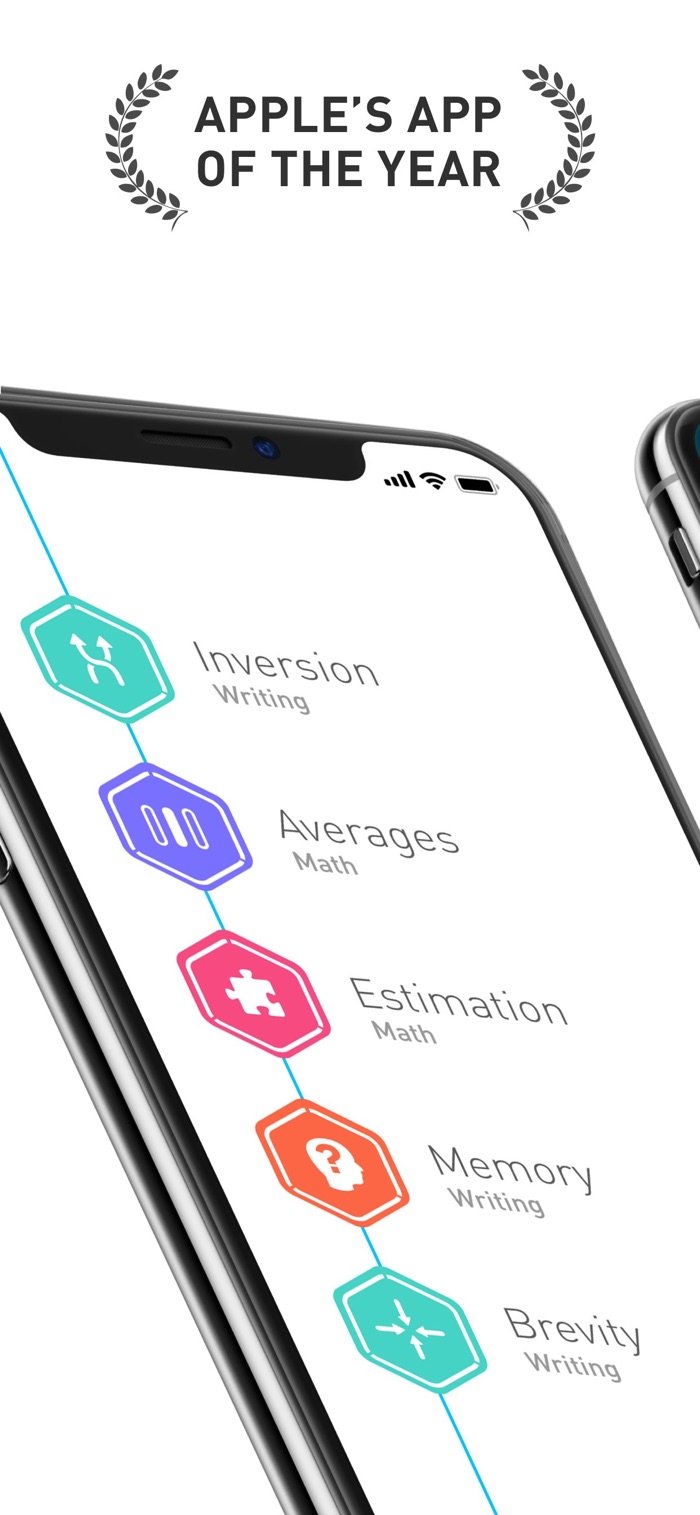 Elevate - app screenshot