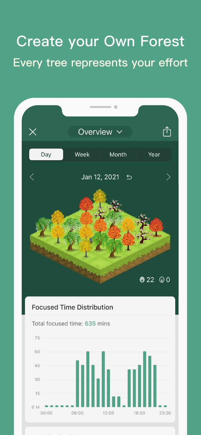 Forest - app screenshot