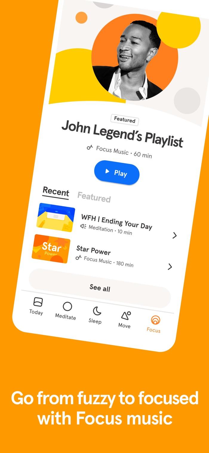 Headspace - app screenshot