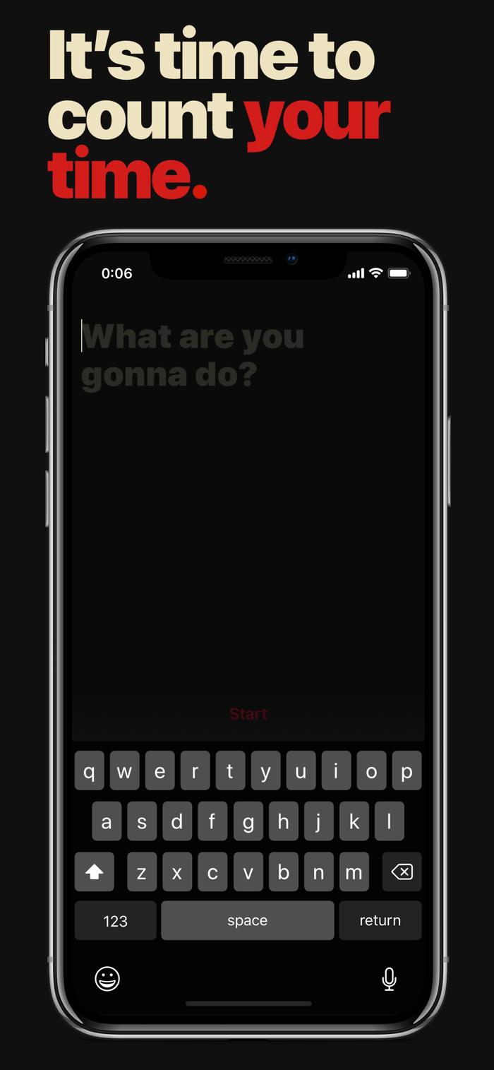 Hourly - app screenshot