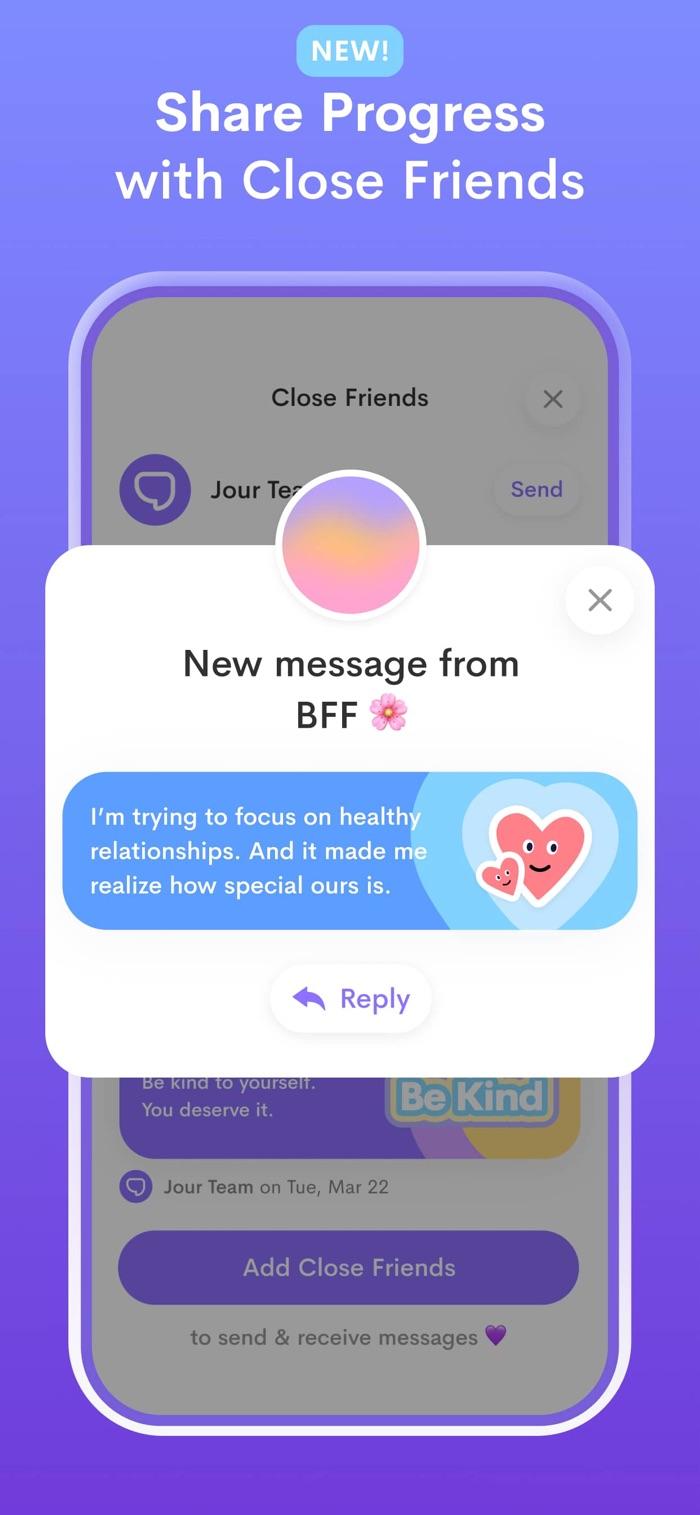 Jour - app screenshot