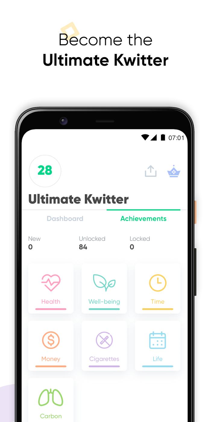 Kwit - app screenshot