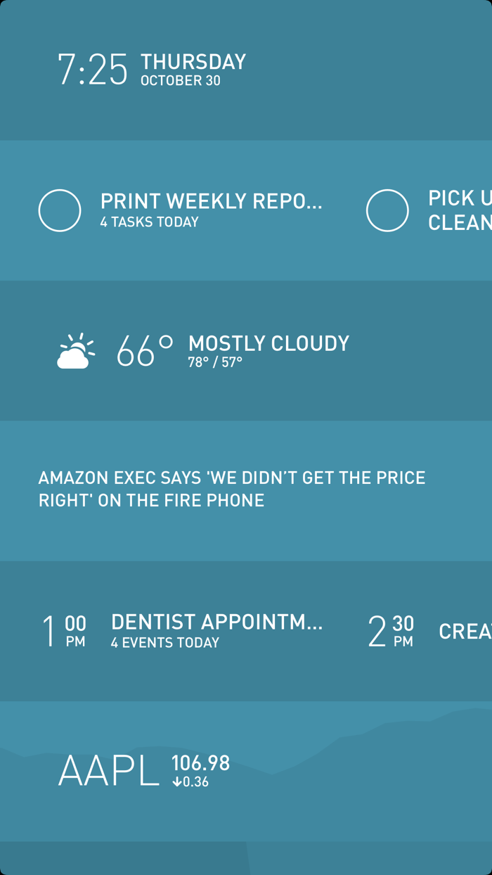 Morning - app screenshot