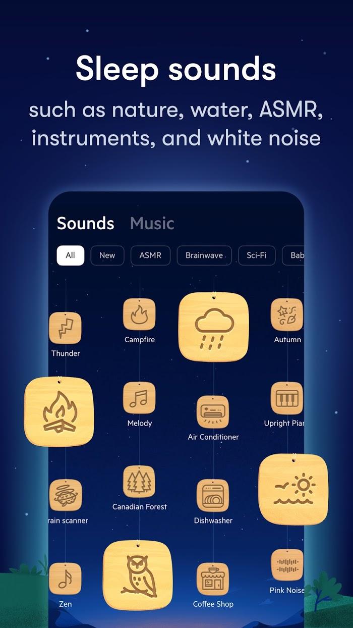 Relax Melodies - app screenshot