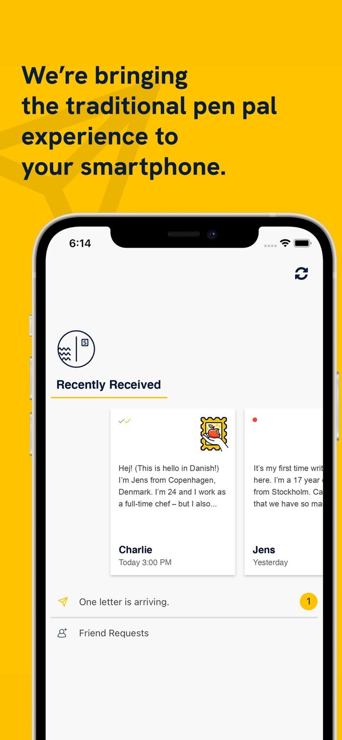 SLOWLY - app screenshot