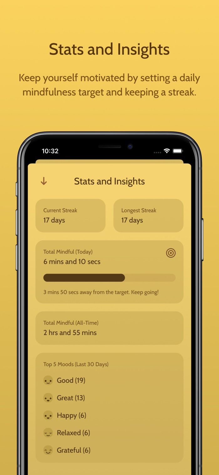 Unwind - app screenshot