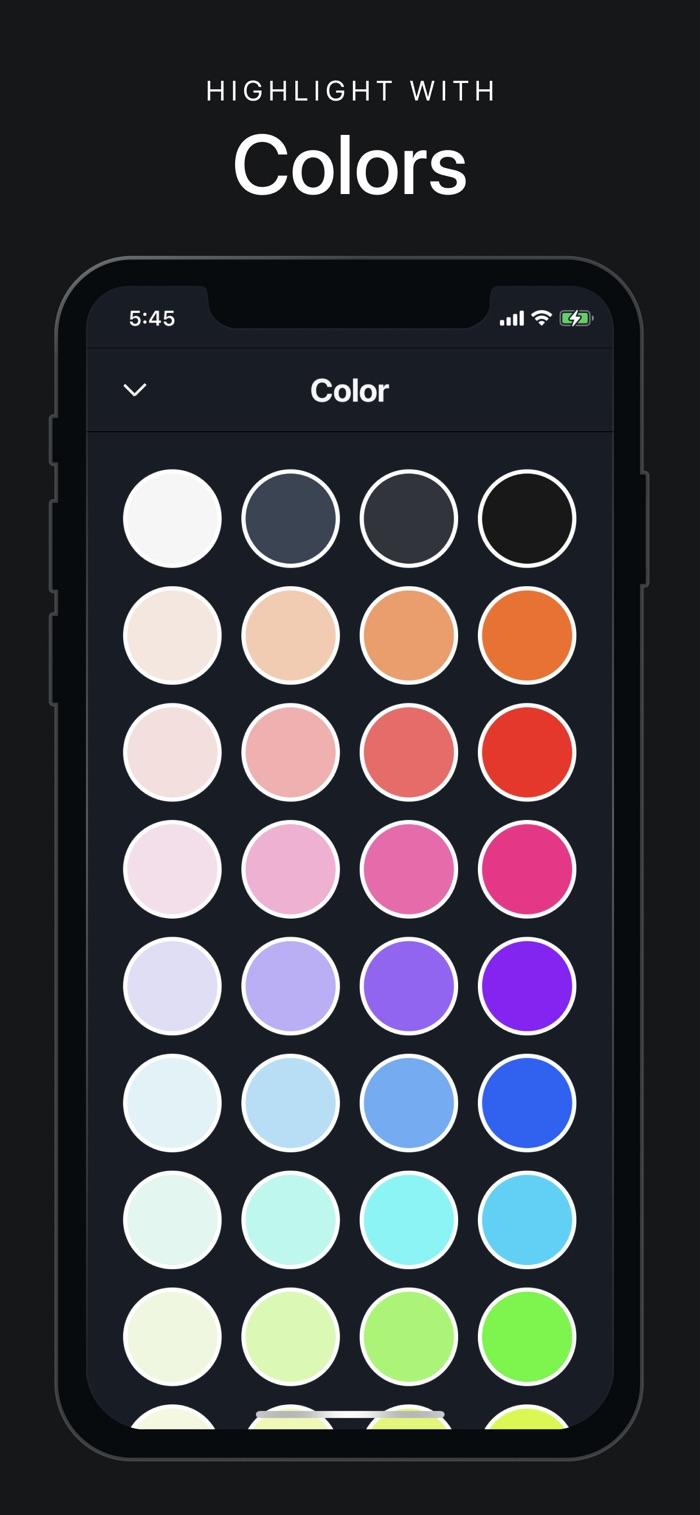 Vantage Calendar - app screenshot